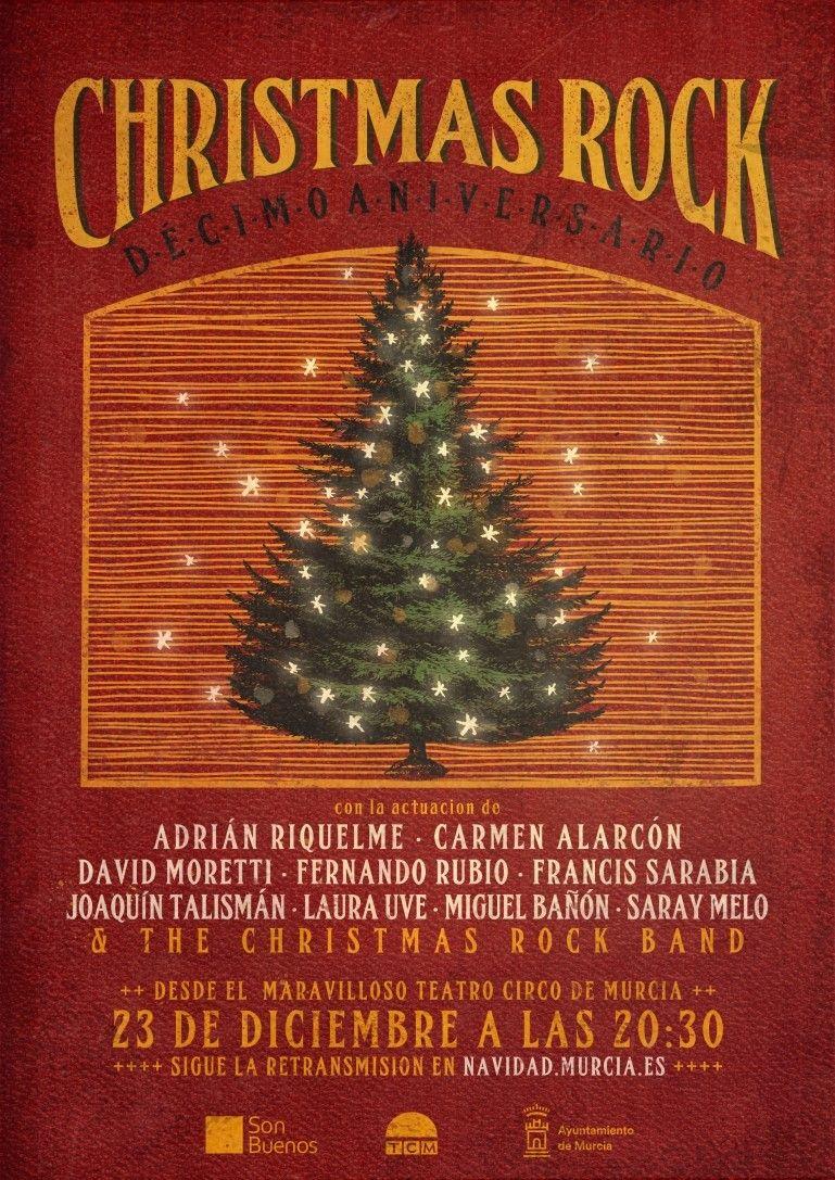 Christmas Rock Murcia cumple su décimo aniversario