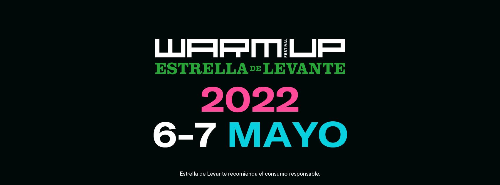 WARM UP Estrella de Levante volverá los días 6 y 7 de mayo de 2022