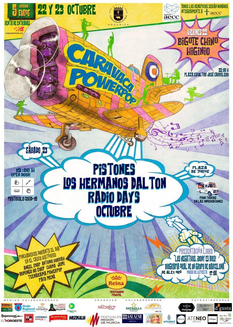 Caravaca Power Pop 2021 los días 22 y 23 de octubre